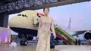 British Airways celebrates launching its A380 to Hong Kong