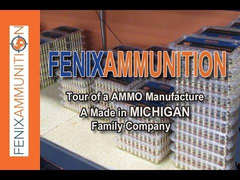 FENIX AMMUNITION - Ammo Manufacturer Shop Tour