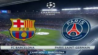 خلاصه بازی بارسلونا ۶ و پارسن جرمن ۱