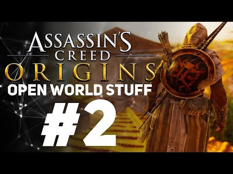 Assassin's Creed Origins [LIVE/PC] - New Game + Open World Stuff #2