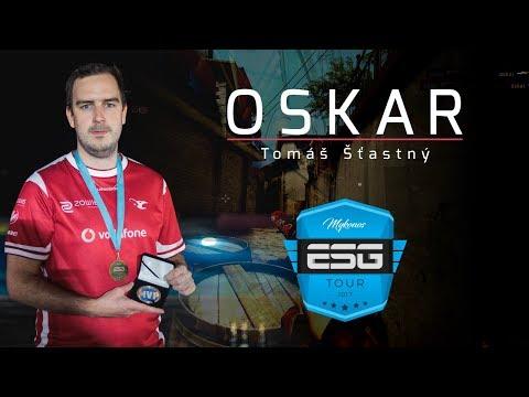 oskar - HLTV MVP by ZOWIE of ESG Tour Mykonos 2017