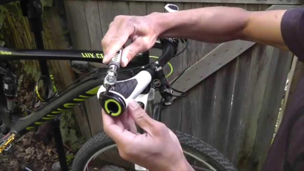 Ergon GP1 Mountain Bicycle Bike Handlebar Grips Bar Ends Large