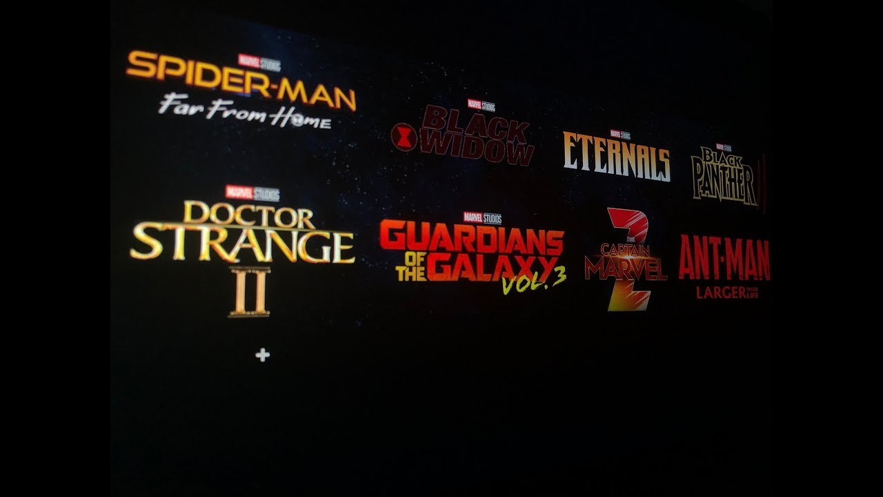 Marvel Secretly Announced PHASE 4 Of The MCU Lineup & All Movies AFTER  Endgame (MCU Phase 4 Leaks)