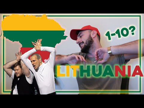 SERBIAN DUDE REACTING TO EUROVISION SONG CONTEST I LITHUANIA 2020 : THE ROOP - ON FIRE