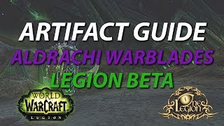 Best Path to Upgrade your Artifact and Why - Vengeance Aldrachi Warblades