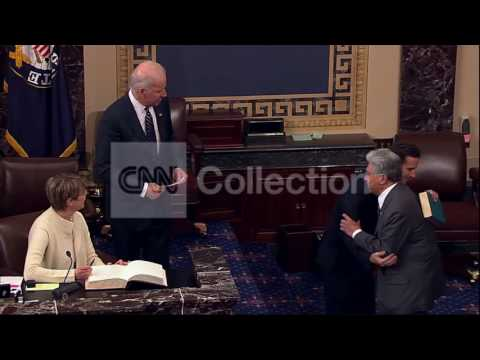 VP JOE BIDEN SWEARS IN HI SENATOR BRIAN SCHATZ