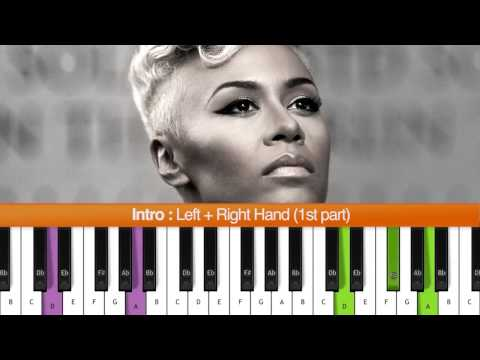 """How To Play """"Read All About It Pt. III"""" Intro (Emeli Sande) Piano Tutorial / Chords"""