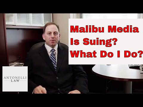 Malibu Media LLC or Strike 3 Holdings is Suing Me. MY ISP Sent Me a Notice - What Is This?