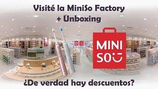 Visité La Nueva Miniso Factory En El Mexipuerto  Descuentos  Unboxing