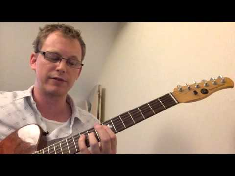 ii V I Arpeggio Pattern for Jazz Guitar Lesson