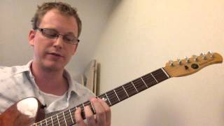 ii V I Arpeggio Pattern for Jazz Guitar Lesson
