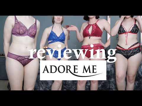 Reviewing Adore Me lingerie- with Mila!