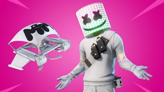 Live fortnite 100 iem skin marshmello