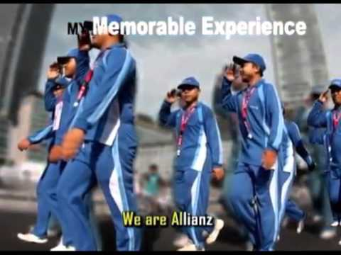 Lagu 'We Are Allianz'