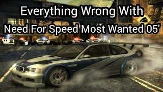 Everything Wrong With Need For Speed Most Wanted in about 22 minutes or less