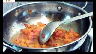 Indian Cuisine Tomato Chutney Easy Recipe