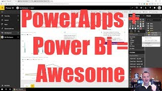 Learn to use the PowerApps Power BI Visual