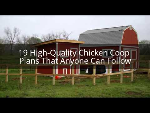 Easy diy chicken coop plans hey try for free youtube for Build a house online free