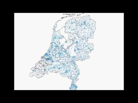 Diffusion of PV installations in the Netherlands.