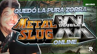 QUEDÓ LA CAGÁ! METAL SLUG: DOUBLE X (COOP 2 PLAYERS ONLINE)