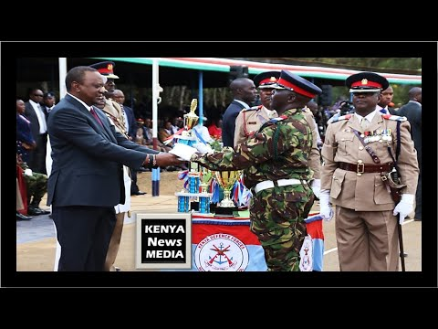 KDF AWARDS for the Best Recruits in Eldoret PASS OUT PARADE 2018!!!