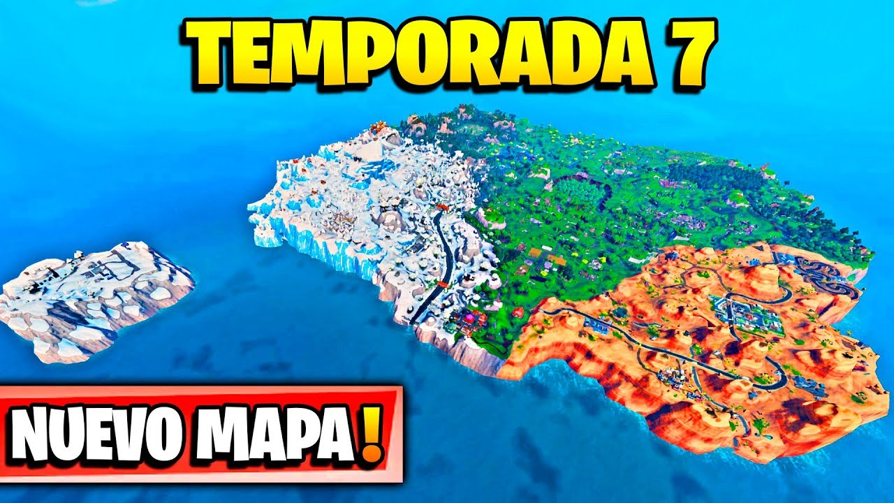 Fortnite Temporada 7 Mapa.Temporada 7 Todas Las Nuevas Zonas Secretas Del Nuevo Mapa Fortnite Battle Royale