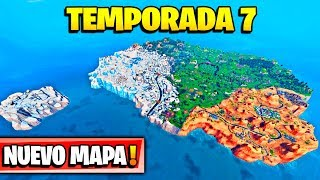 **SEASON 7** ALL NEW SECRET ZONES OF THE NEW MAP! FORTNITE: Battle Royale