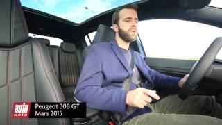 2015 Peugeot 308 GT : Essai Auto Moto Magazine