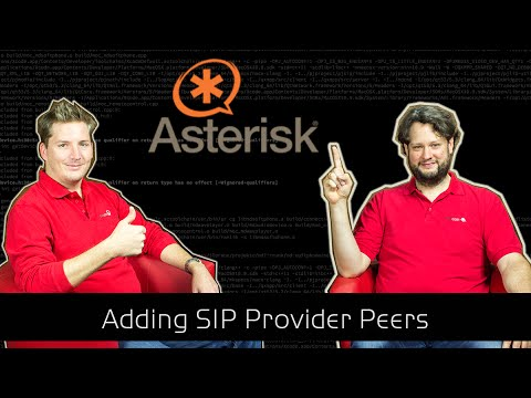 Asterisk Tutorial 44 - Adding a SIP Provider Peer [english]