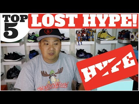 TOP 5 SNEAKERS THAT LOST THE HYPE!!