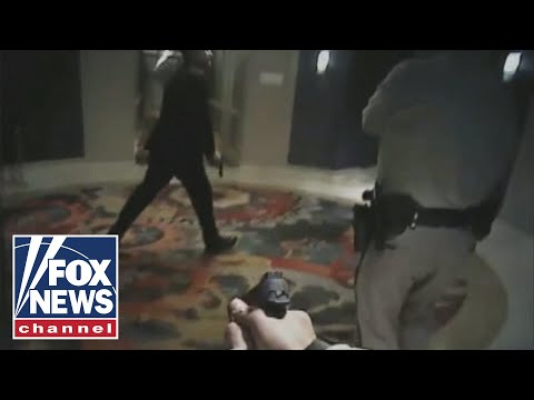 Las Vegas police release more video from night of massacre