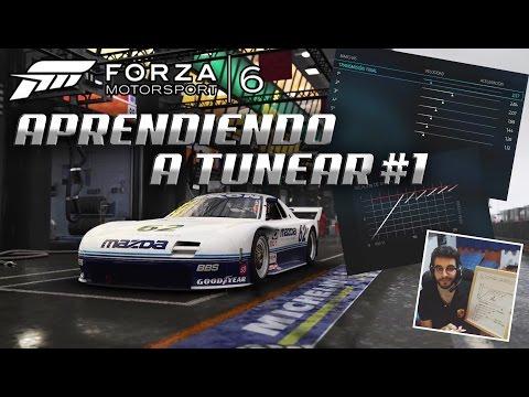 APRENDIENDO A TUNEAR CON FORZA #1 | NEUMÁTICOS, CAJA DE CAMBIOS, ALINEACIÓN