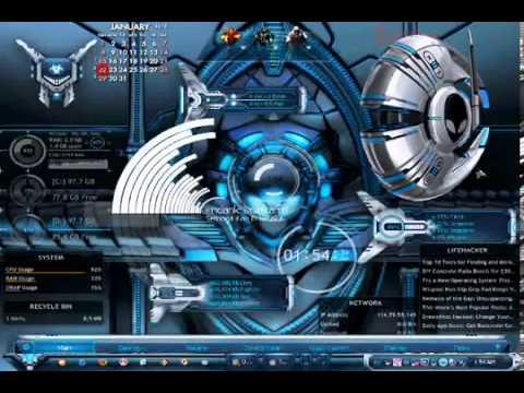 Alienware desktop themes