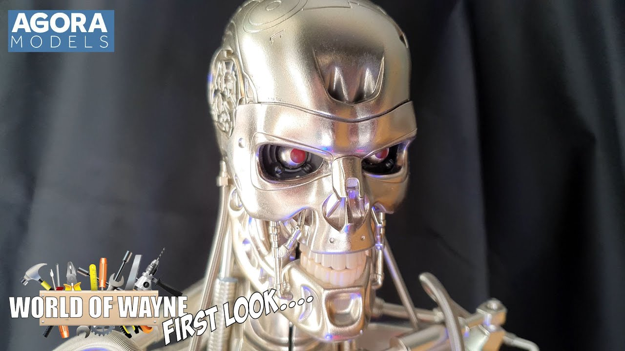 First Look - Agora Models The T-800 Terminator Prototype