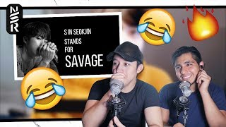 GUYS REACT TO BTS 'SAVAGE JIN 🔥🔥'