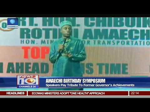 Amaechi Birthday Symposium: Party Leader, Stalwarts Honour Fmr Governor At 52