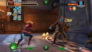Mcoc act5 fight with Yondu