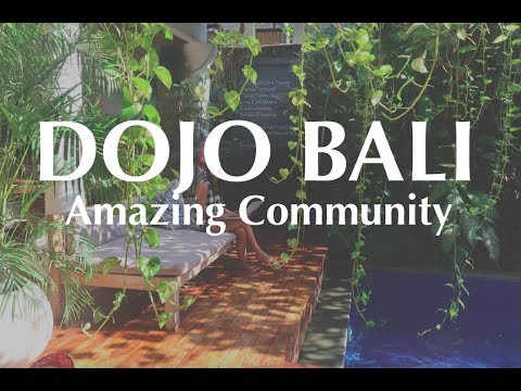 DOJO BALI Coworking space in Canggu, Bali, Indonesia.