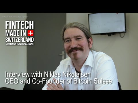 """FinTech Made in Switzerland"": Interview Niklas Nikolajsen, Bitcoin Suisse"