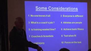 Jack Daniels with the TCTC [Part 3 -- Coaching Considerations]