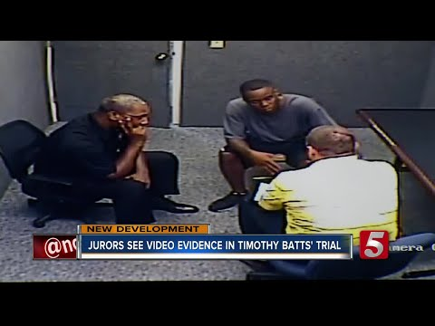 Jurors See Surveillance Video In Timothy Batts Trial