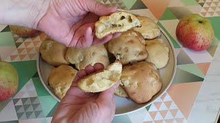 Лучший рецепт Домашнего Печенья с Яблоками Получается всегда
