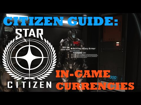 Citizen Guide: In Game Currencies Explained [UEC, aUEC & REC]