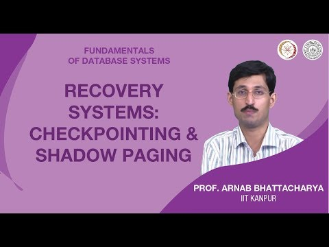 Recovery Systems: Checkpointing and Shadow Paging