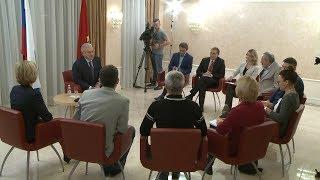 временно исполняющий обязанности губернатора края Александр Усс дал первое интервью