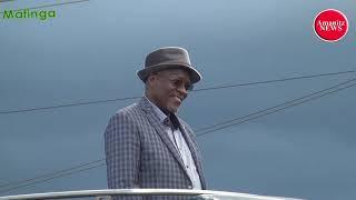 Rais Magufuli afurahi kukutana na Pacha wake Mafinga Mjini