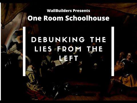 One room Schoolhouse - Debunking the Left #WallBuilders #Truth #America #History