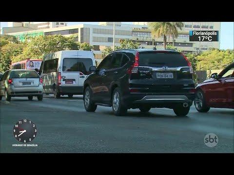 No DF, mais de 50 motoristas foram pegos embriagados por dia em junho   SBT Brasil (05/07/18)