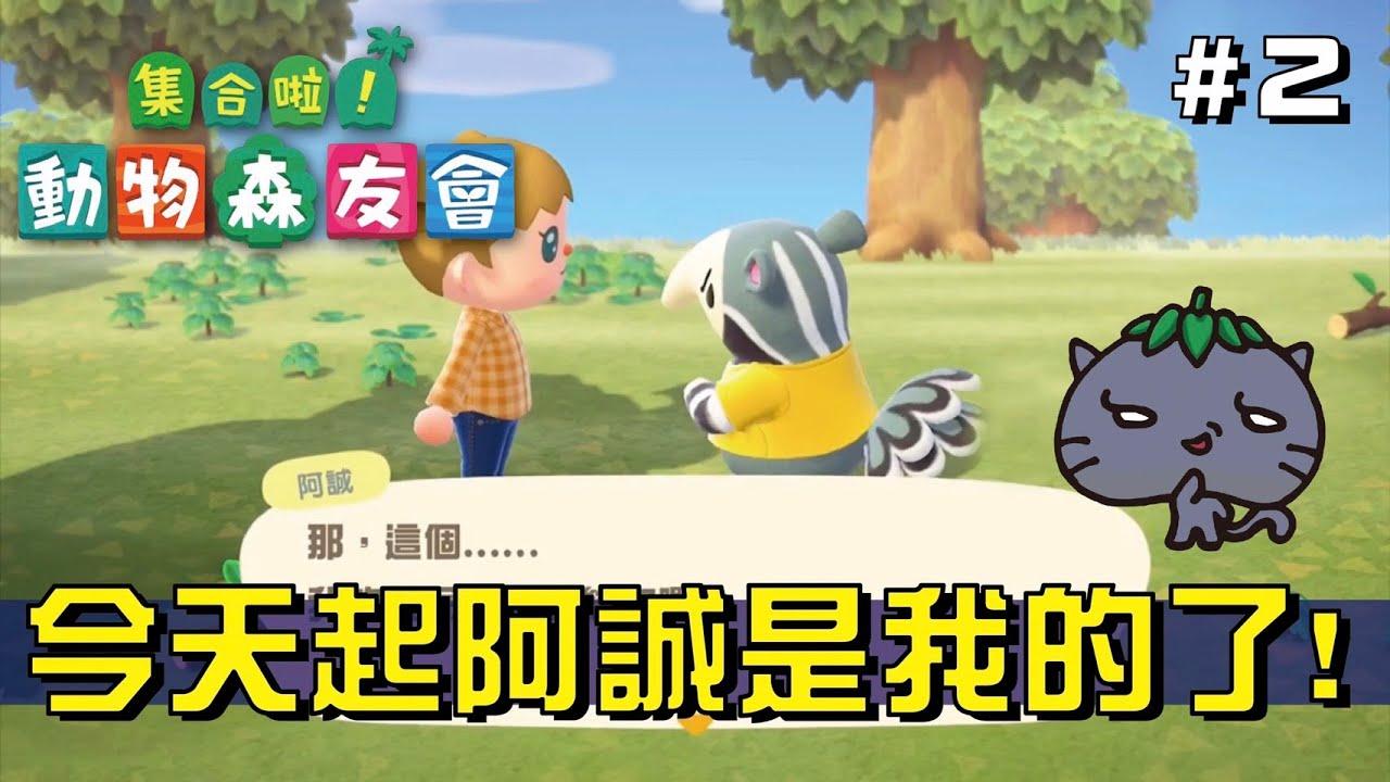 動物森友會‧貓果果【果然是座島#2】實況剪輯【阿誠是我的】(Animal Crossing)