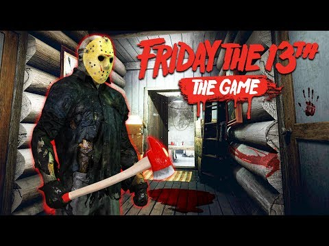 FRIDAY THE 13TH GAME w/ MY GIRLFRIEND!!